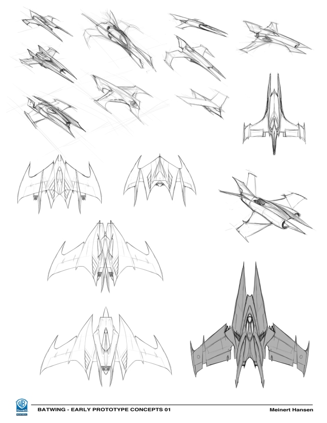 Some of the first roughs. I left out some of the odder ones.
