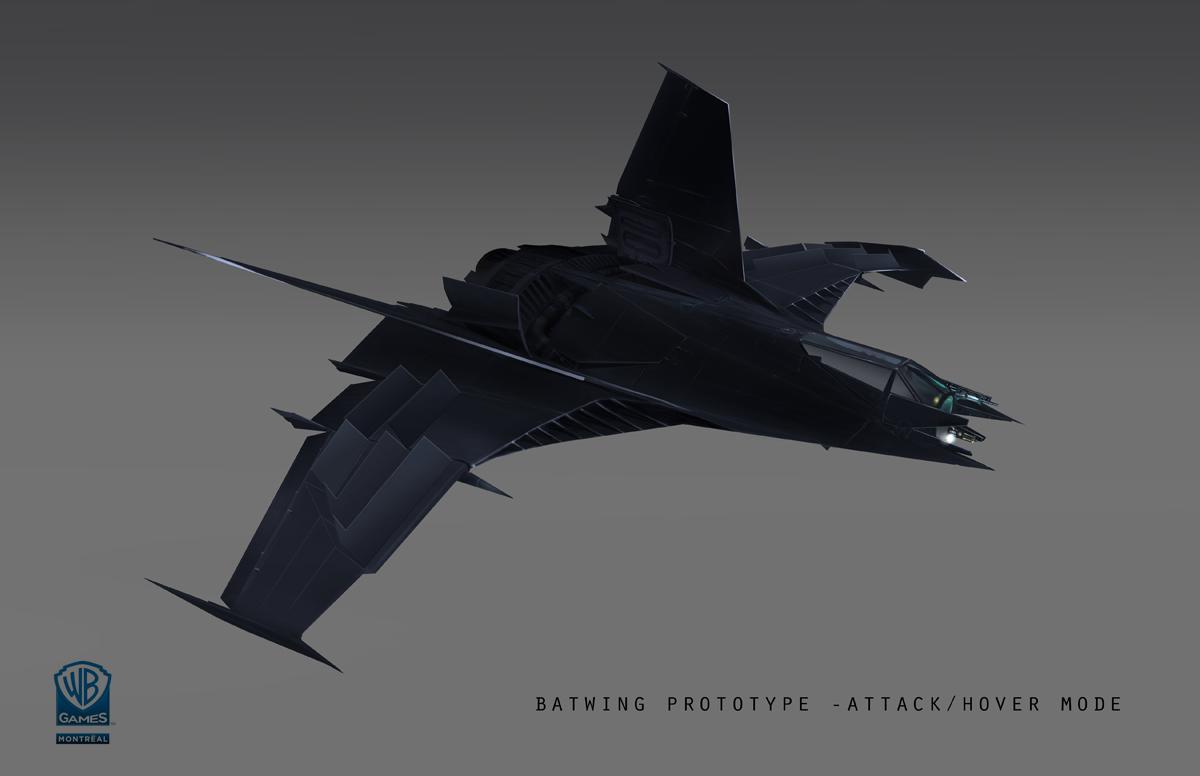 Batman arkham origins the batwing meinert hansen for Design attack