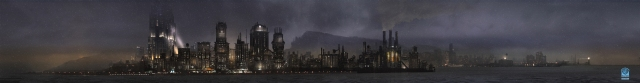 A view from Old Gotham, without the bridge.