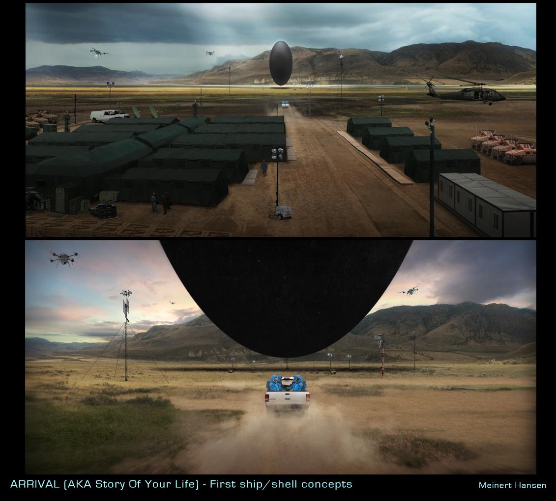Arrival Movie Concept Art